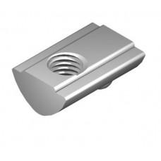 T-Slot Nut 5 St M4, bright zinc-plated