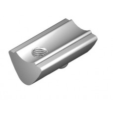 T-Slot Nut 6 St M4, bright zinc-plated