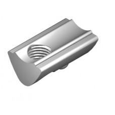T-Slot Nut 6 St M6, bright zinc-plated