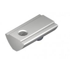 T-Slot Nut V 8 St M4, bright zinc-plated