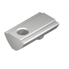 T-Slot Nut V 8 St M5, bright zinc-plated