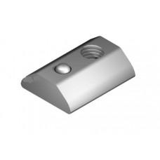 T-Slot Nut 8 St M6, heavy-duty, bright zinc-plated