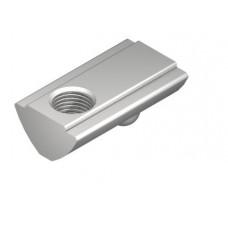 T-Slot Nut V 8 St M6, bright zinc-plated