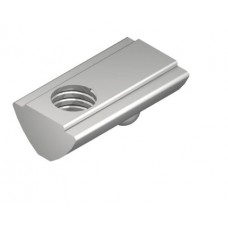 T-Slot Nut V 8 St M8, bright zinc-plated