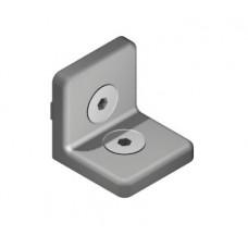 Angle fastener set, 8 V center 40 ZN
