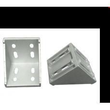 Angle fastener set 8 80x80 ECO
