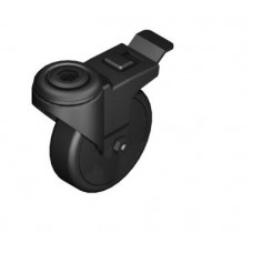 Castor D75 swivel with double-brake ESD
