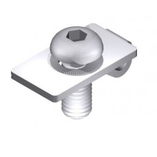 Center connector set 8, single-side,  I-type