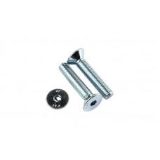 Countersunk Screw DIN 7991 M4x8, bright zinc-plated