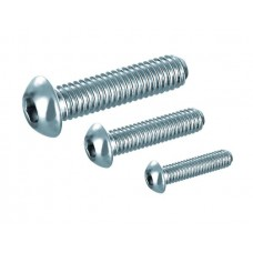 Button-Head Screw M3x6, bright zinc-plated